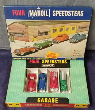 Boxed Manoil Speedster Set 7890 Variation