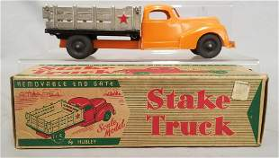 LN Boxed Hubley 470 Stake Truck