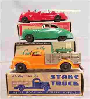 3 Boxed Hubley Vehicles
