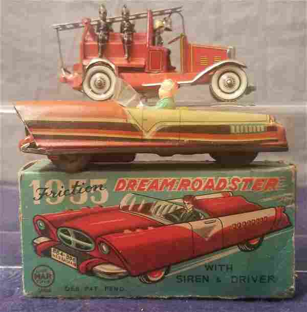 2 Tin Toy Vehicles