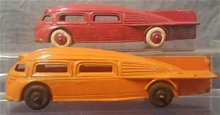 2 Manoil Zeppelin Cars