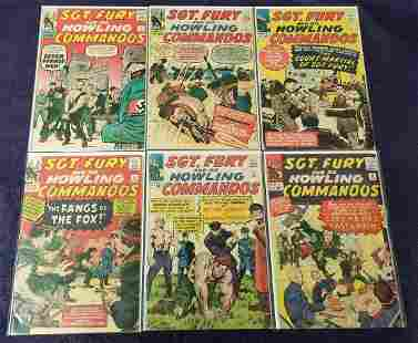 Sgt. Fury. Collectors Group Lot.