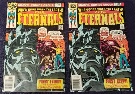 Marvel Comics. The Eternals. #1 Both issues.
