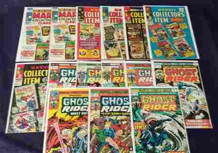 Silver and Bronze Age Marvel Comic Lot
