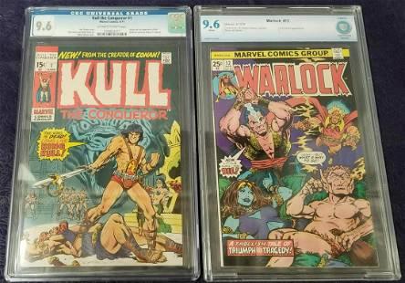Lot of Two CGC Graded Marvel Comics.