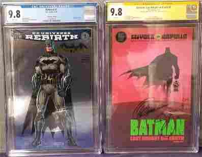 Lot of Two Graded Modern Comics.