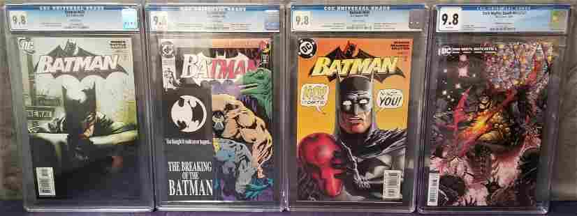 Lot of Four High Grade Modern DC Comics.