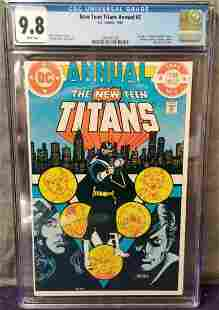 New Teen Titans Annual #2 CGC 9.8