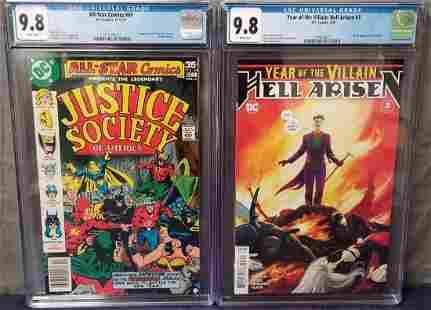 Lot of Two CGC Graded Modern DC Comics.