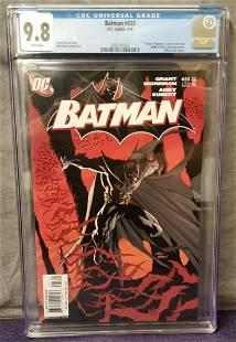 Batman #655 CGC 9.8