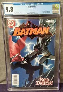 Batman #635 CGC 9.8