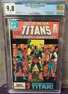 Tales of the Teen Titans. #44 CGC 9.8