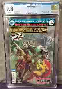 Teen Titans #12 CGC 9.8 11/2017