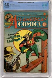 All-American Comics #16, CBCS 4.0