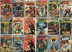 High Grade Bronze Age DC Comics- 4 Long Boxes.