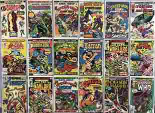 Marvel & DC Bronze Age, 2 Long Box Lot
