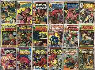 High Grade Marvel Bronze Group-2 Long Boxes.