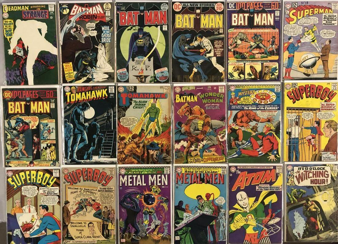 Silver & Bronze Age DC Comic Book Group.