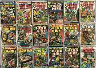 Marvel Bronze Age Collection 2 Long Boxes