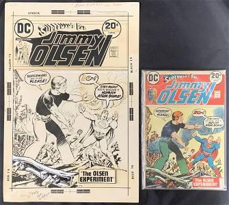 Original Cover Art. Jimmy Olsen. #161