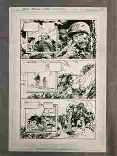 Joe Kubert Presents #5 Original Comic Art Page