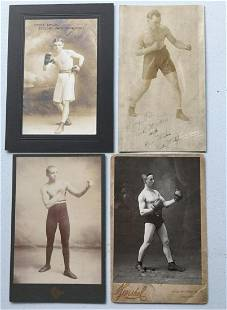 Vintage Boxing Photos. Early 20th century.
