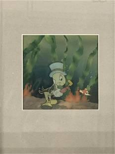 1940 Pinocchio Jiminy Cricket Production Cel