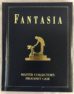 Disney Fantasia 50th Anniv .999 Silver Proof Set