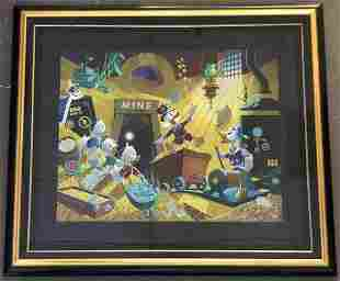 Carl Barks, Rich Finds at Inventory Time Serigraph