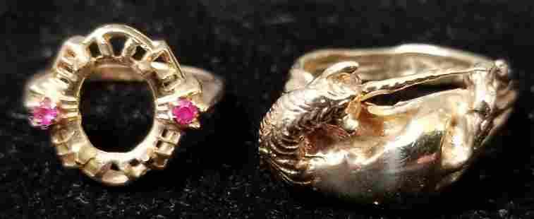 14K Gold Jewelry Lot.