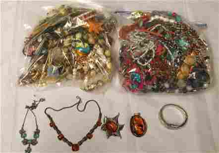 Estate Jewelry Lot. Includes Costume.