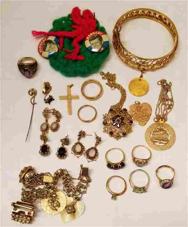 Great Lot of Estate Jewelry and Coins.