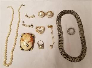 Mixed Estate Jewelry Lot.