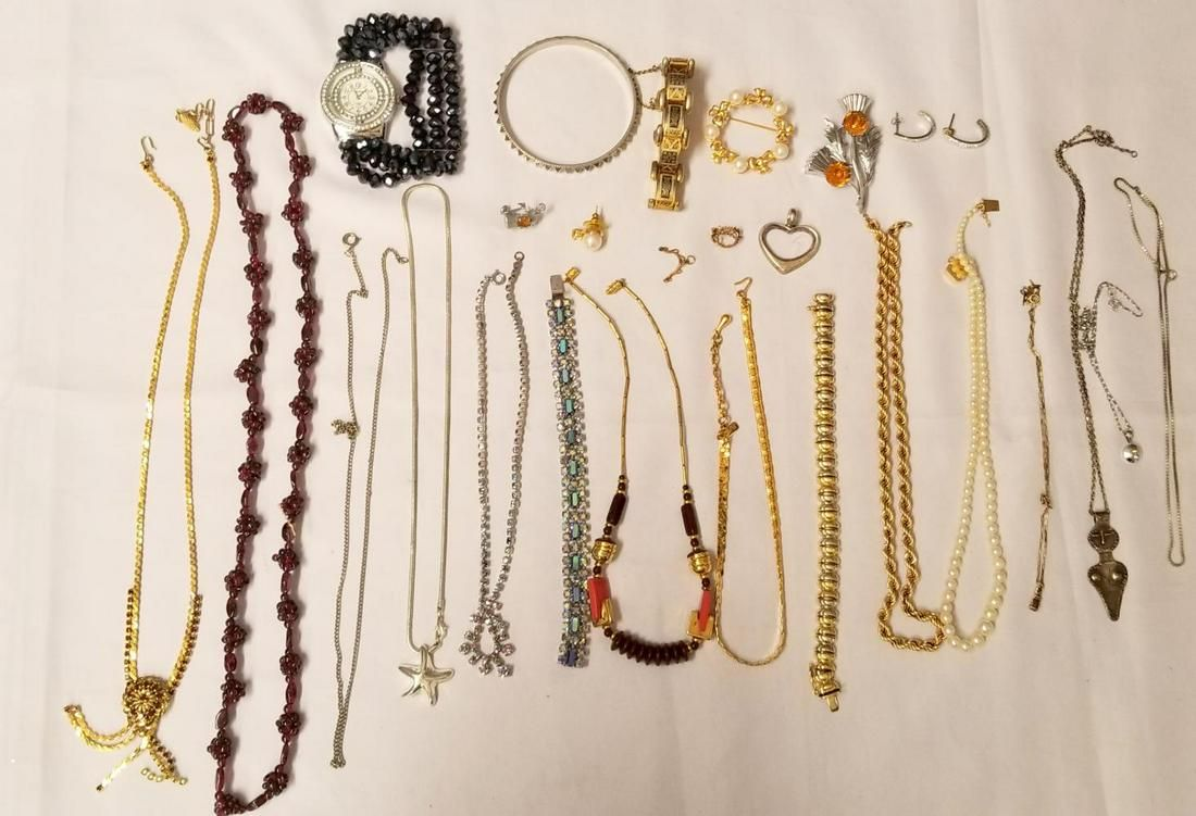 Estate Jewelry Lot includes Gold.