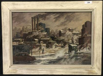 Boylan Fitzgerald (Born 1909). Oil on Canvas.