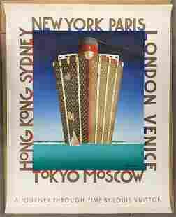 """Louis Vuitton, """"A Journey Through Time"""", Razzia"""