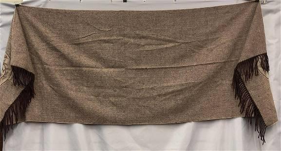 Hermes Wool Scarf.