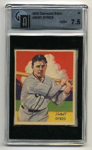 2: 1935 DIAMOND STARS. JIMMY DYKES.