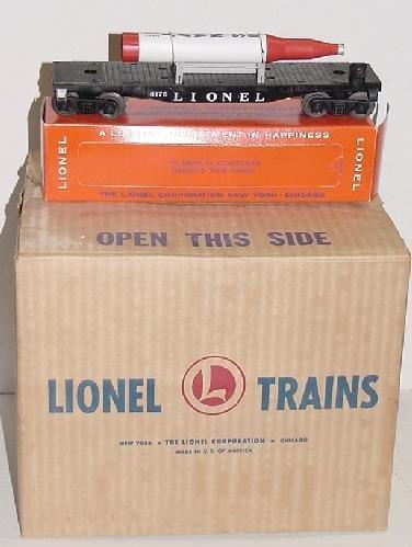 202: LIONEL 175 ROCKET LAUNCHER & 6175 BOXED