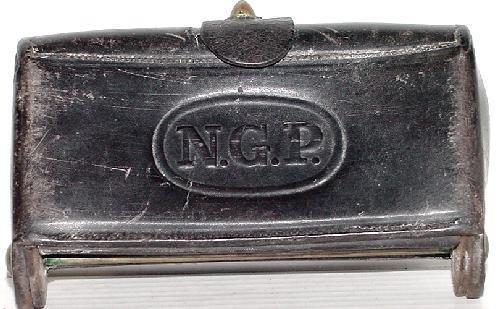 5: 1874 MC KEEVER CARTRIDGE BOX.