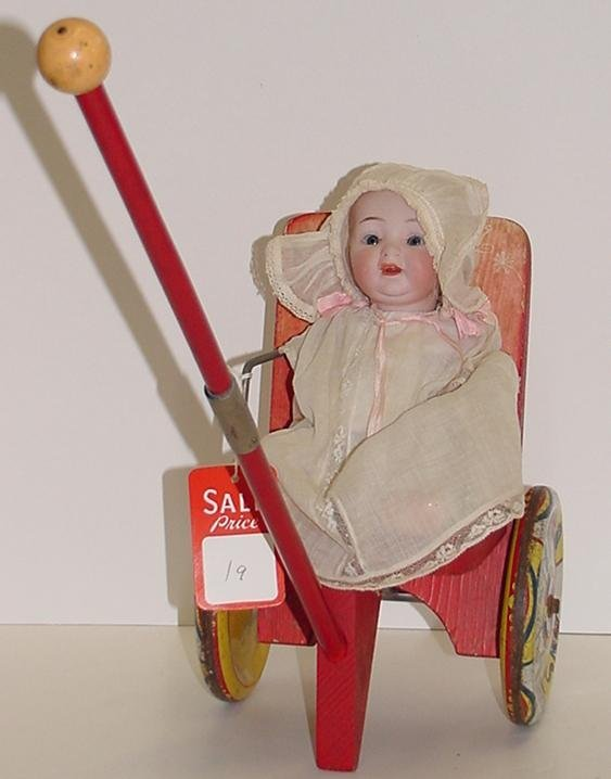 19: GERMAN CHARACTER BABY DOLL.