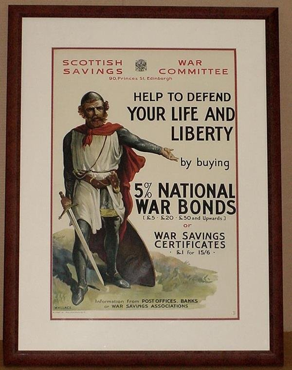 24: ORIG WW1 POSTER HELP TO DEFEND YOUR LIFE