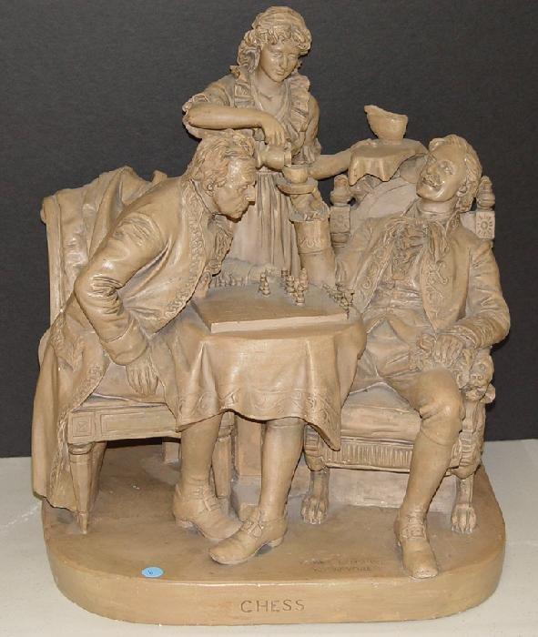 1006: JOHN ROGERS STATUE - CHESS