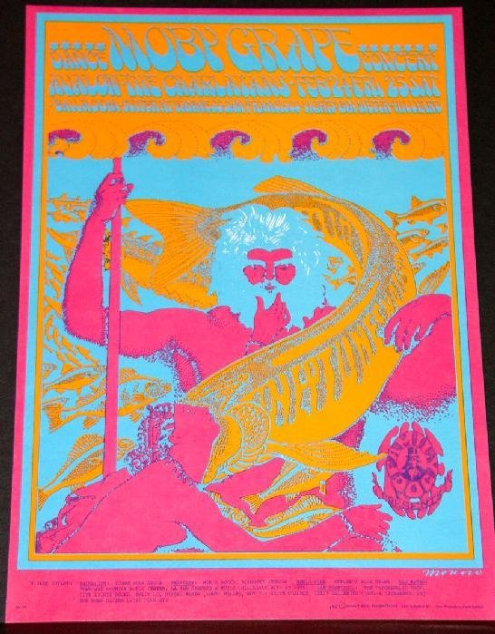 1018: FAMILY DOG POSTER - MOBY GRAPE