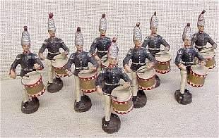 Elastolin Foreign Drummer Soldiers