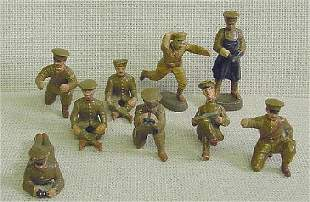Elastolin Ass't Position Toy Soldiers