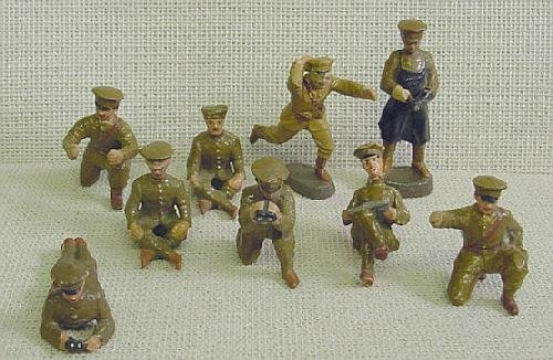 11: Elastolin Ass't Position Toy Soldiers