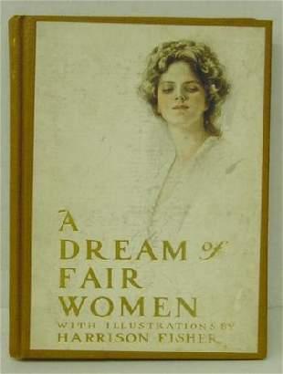 1st Ed 1907 Dream of Fair Women Fisher