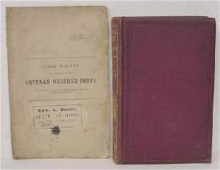 2 Civil War Vols Record of Officers