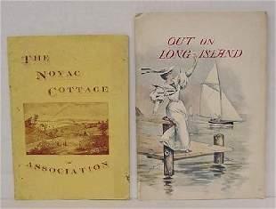 2 Vtg Long Island Books in Wraps